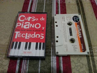 Cursos de piano, teclado y guitarra - cassette