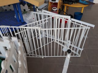 vallas aluminio bebe de 1m de alto x 0.80 largo