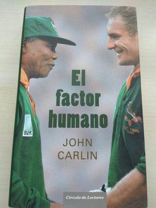 Libro lectura El Factor Humano de John Carlin