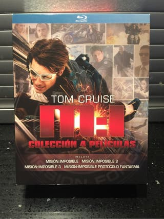 Pack Mission Impossible Bluray
