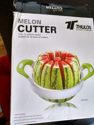 máquina cortar sandía/melón