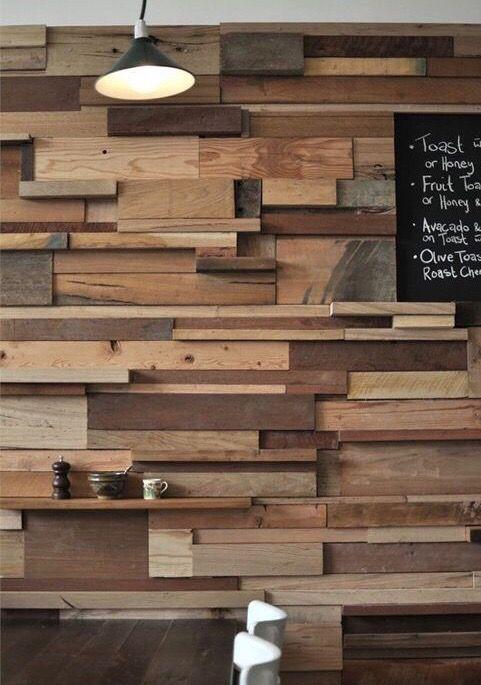 Panelados pared de madera pale de segunda mano en Barcelona - wallapop