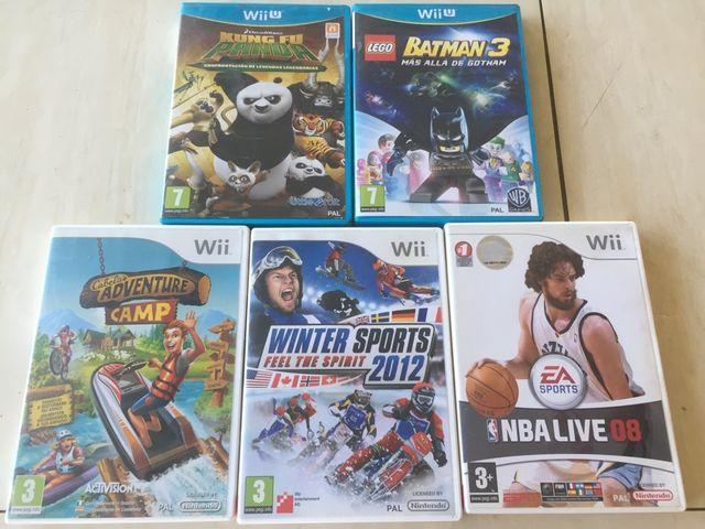 Lote Juegos Wii Wii U Entrega En Mano De Segunda Mano Por 20 En