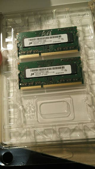 Pack Memoria ram 4gb Macbook pro a 1600mhz