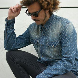Camisa Tejana Print