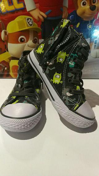 Zapatillas altas niño