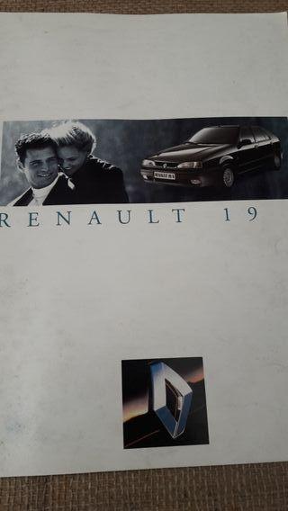 Catálogo Renault 19