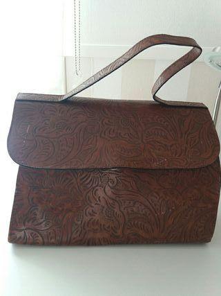 Bolso Bolso mujer maletín maletín piel F5wqxOd
