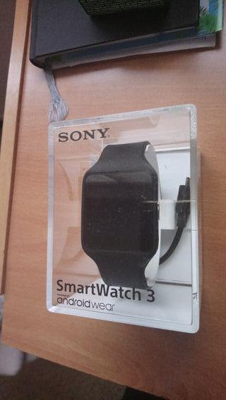 Reloj smartwatch 3 Sony