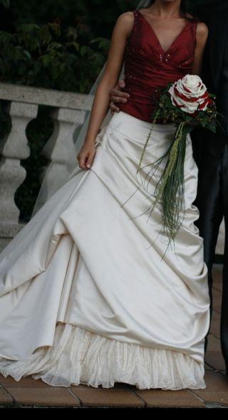 Original vestido novia St.Patrick