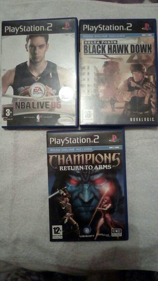 3 juegos play2