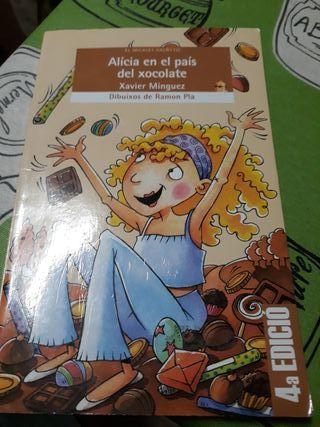 Libro Alicia en el país del xocolate 3° primaria