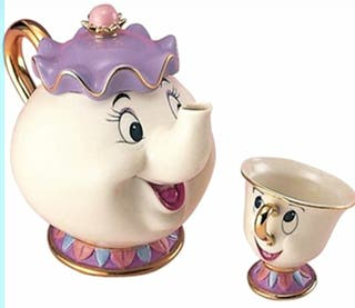 Juego de café Disney