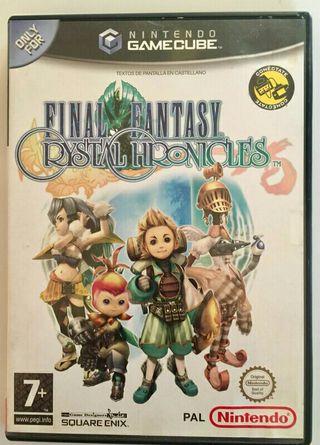 final fantasy christal chronicles gamecube