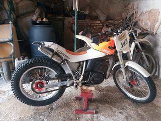 moto fantic de trial 250cc