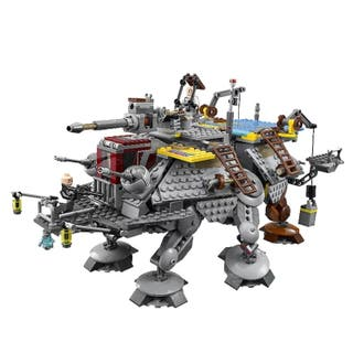 AT-TE del Capitán Rex compatible Star Wars