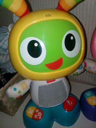 jugetes bebe.Robie robot...se mueve,baila,canta...