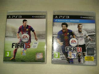 Pack Fifa 15 y Fifa 13 PS3