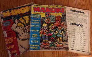 Lote 3 publicaciones makoki tbo pack