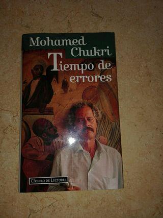 """Libro """"Tiempo errores"""""""