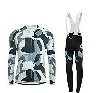 conjunto ciclismo maillot + pantalón