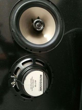 Altavoces para coche autosonik