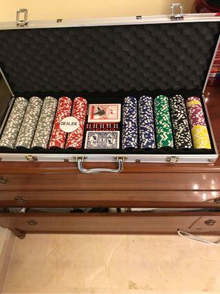 Maletin de poker profesional