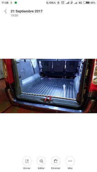 Base reforzada para furgonetas de todo tipo