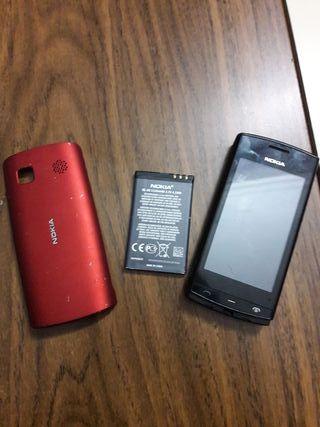 Nokia para bateria y carcasa roja