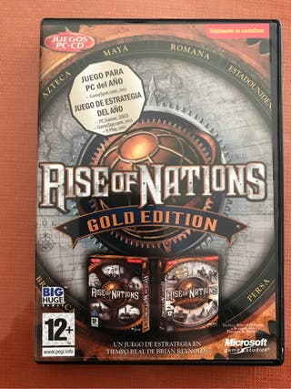 Videojuego Rise of Nations (Gold Edition)