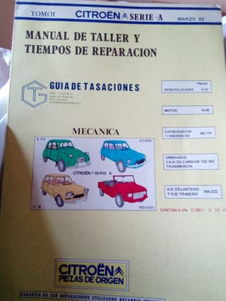 manuales coches antiguos