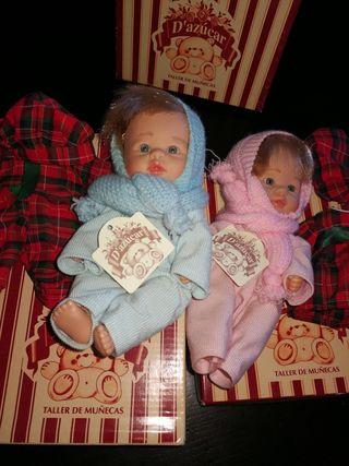 Gemelos de el taller de muñecas D'Azúcar