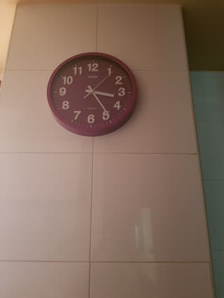 reloj d3 pared