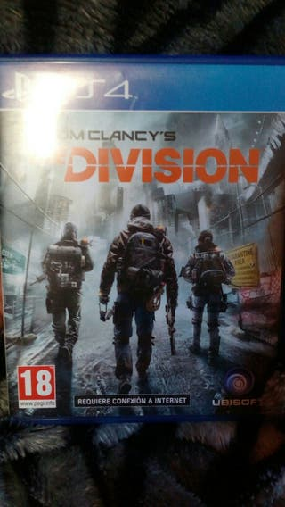 juego ps4 Tom Clancy's The division