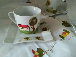 juego - tazas café