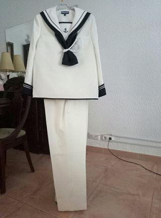 traje de comunión niño talla 12