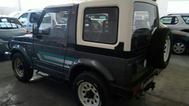 Suzuki Samurai SJ hard top, motor 1.300 carburador