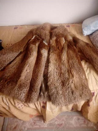 chaqueton piel de zorro