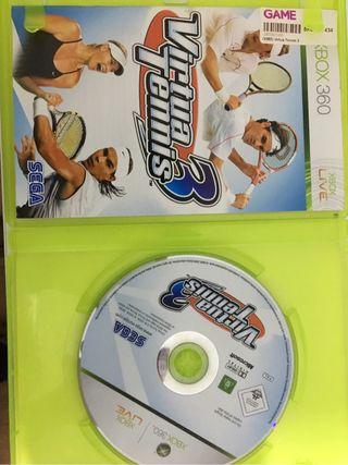Juego virtua tenis 3 xbox 360