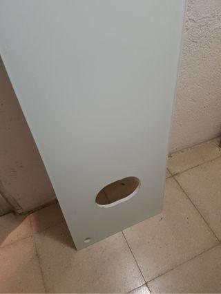 Encimera de cristal lavabo