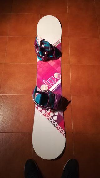 tabla snowboard chica Salomón NUEVAA
