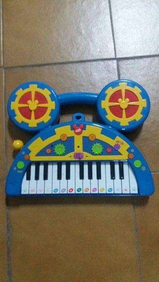 órgano piano de Mickey Mouse