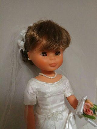 Nancy novia flequillo Quirón. Año 2000