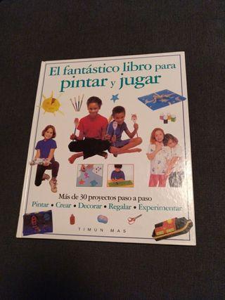 El fantástico libro para pintar y jugar