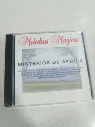 Cd Misterios de Africa