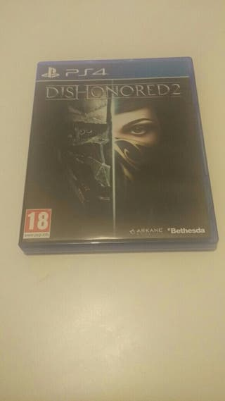 PS4 - DISHONORED 2