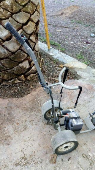 transportador de palos de golf electrico