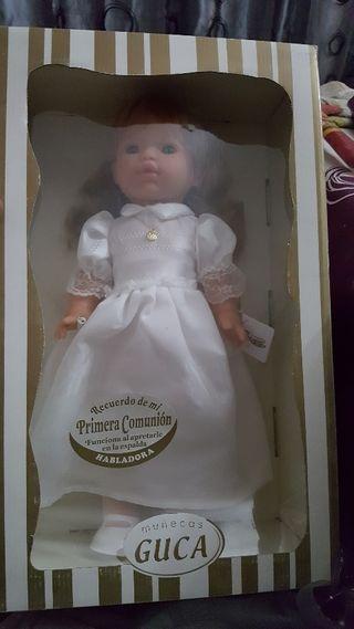 Muñeca comunión