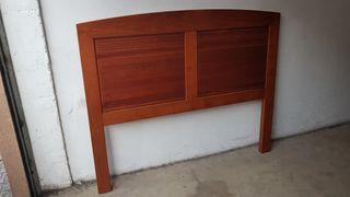 Cabecero cama de madera de 140cm