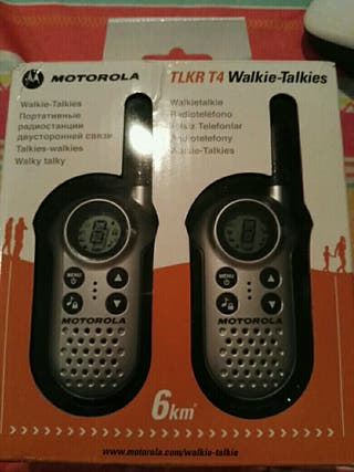 walkie talkies motorola tlkr t4
